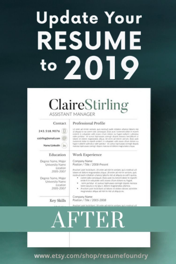 we can help you update your resume easily by using one of