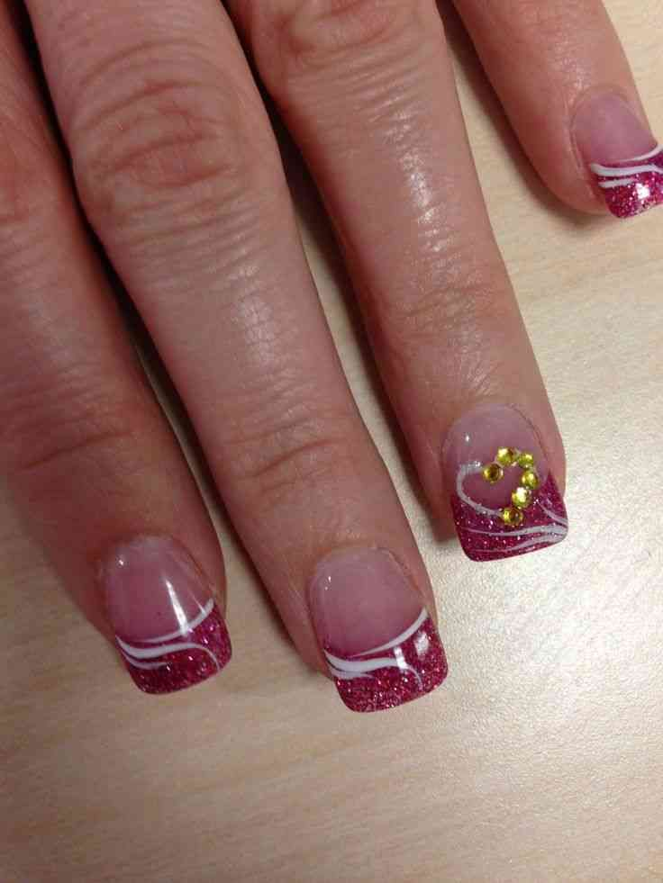 valentine's day nail art ideashttp://womenpulse.com/valentine-day ...
