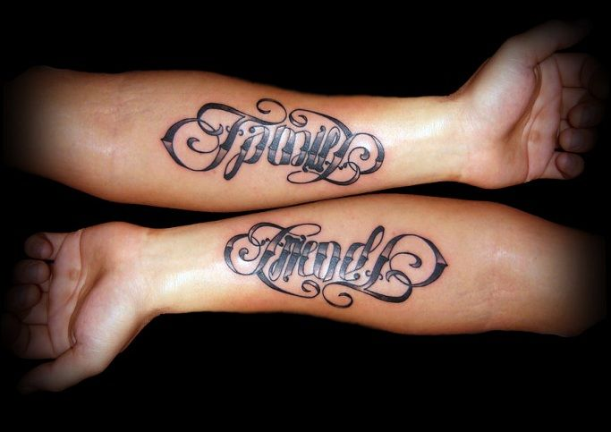 Matching Tattoos For Best Friends Boy And Girl 48631 Infobit