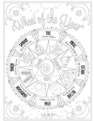 Printable Coloring Pages for Children and Adults - Coven ...