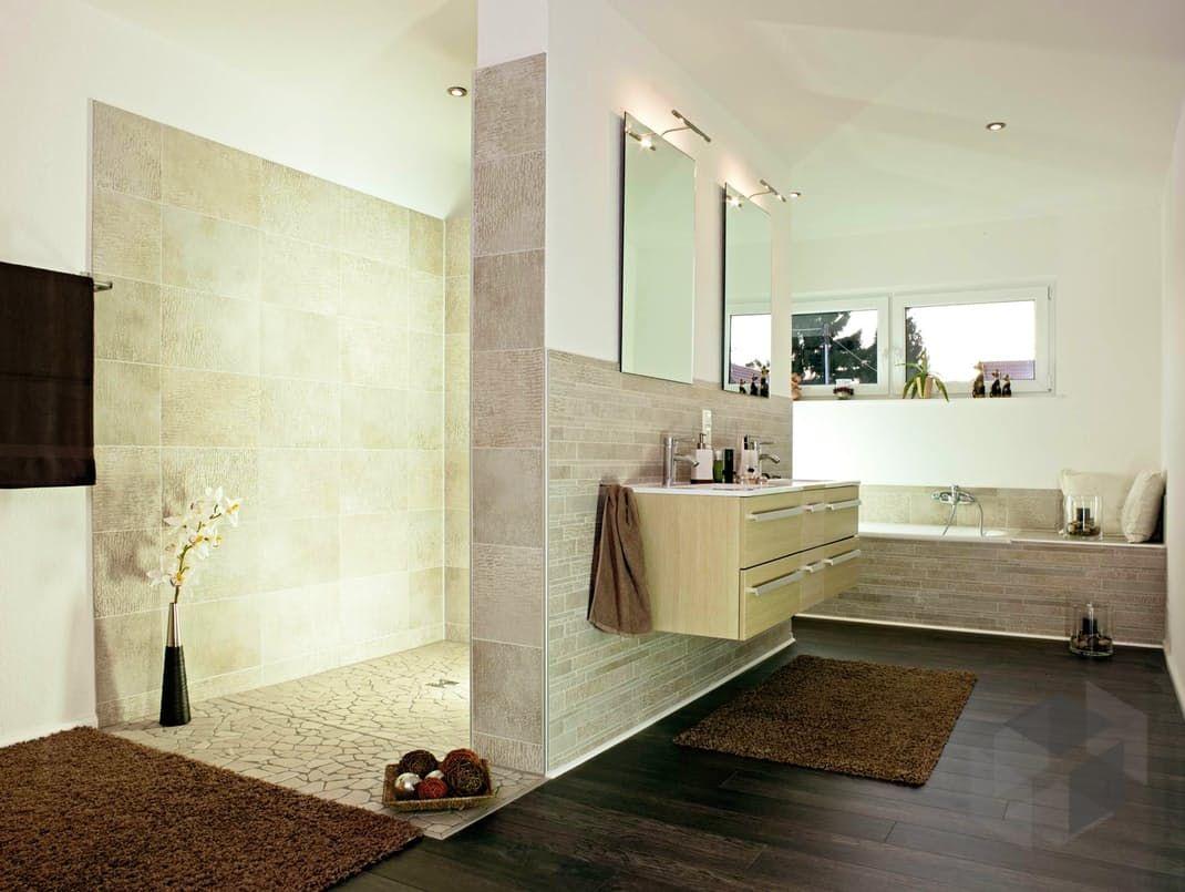Helsinki Von Streif Haus Bad Impression Finde Hauser Von Verschiedenen Anbietern Auf Www Fertighaus De Streif Haus Offene Bader Badezimmer Gestalten