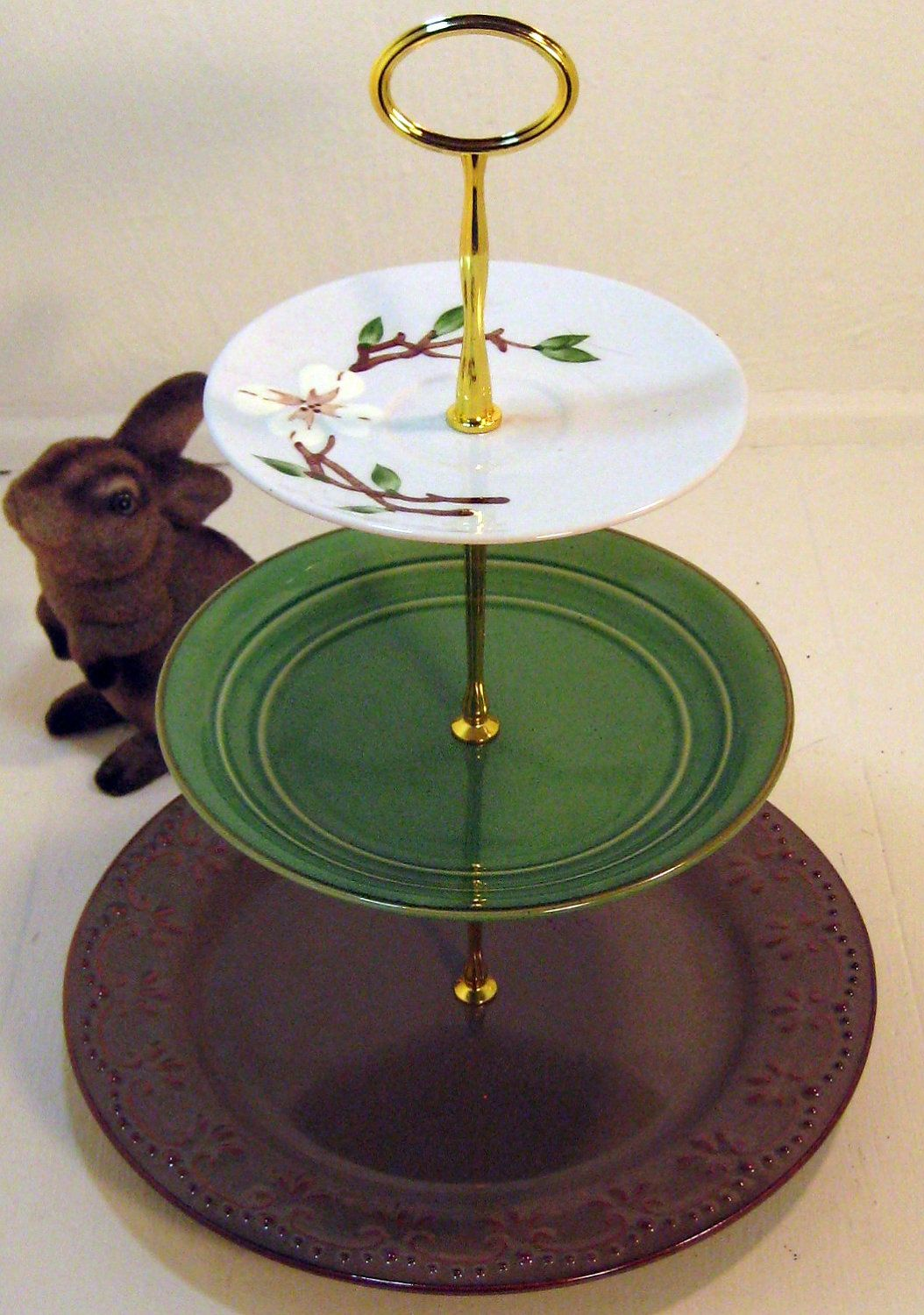 Tier Cake Stand Tidbit Tray Under The By BunnysBakedGoods