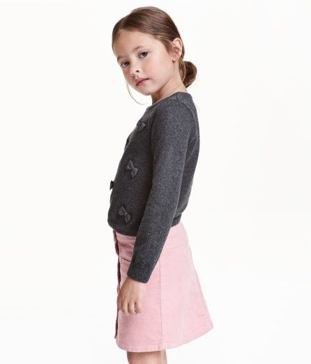 Check this out! Sweater in a soft, fine, cotton knit with appliqués at front. - Visit hm.com to see more.