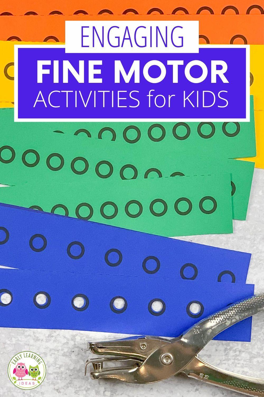 68 Fine Motor Hole Punch Activities Ideas In 2021 Fine Motor Fine Motor Activities Activities