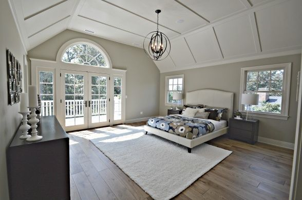 Color On The Wall Is Benjamin Moore Sag Harbor Grey Bedrooms