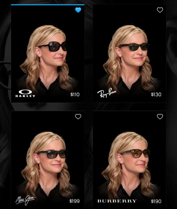 87e45d1b1814 Eyewear shopping app turns your headshot into 3D image