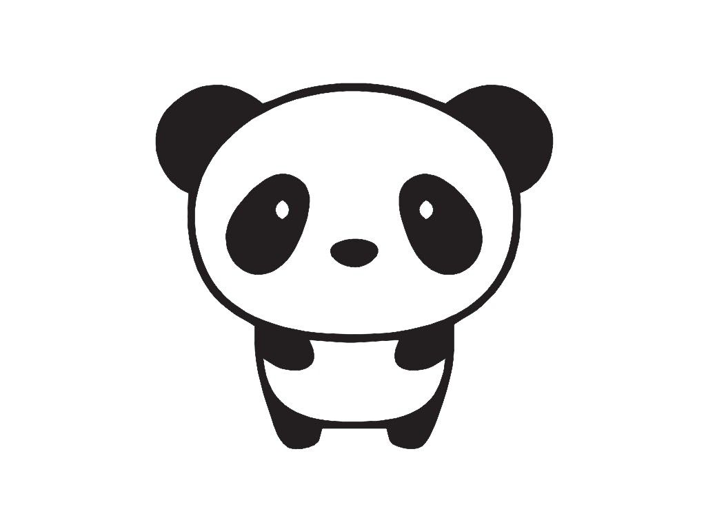 Baby Panda Drawing Cute Of A How To Draw Easy Youtube Con