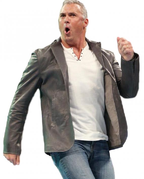 Shane Mcmahon Wwe Grey Coat Gray Jacket Grey Coat Jackets