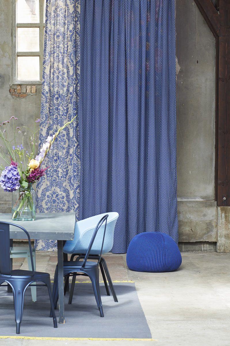 Gordijnen PIP Studio blauw Eijffinger - Woninginrichting-Aanhuis.nl ...
