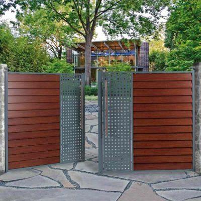 portail aluminium et acier galvanis moderne et original j mon portail. Black Bedroom Furniture Sets. Home Design Ideas