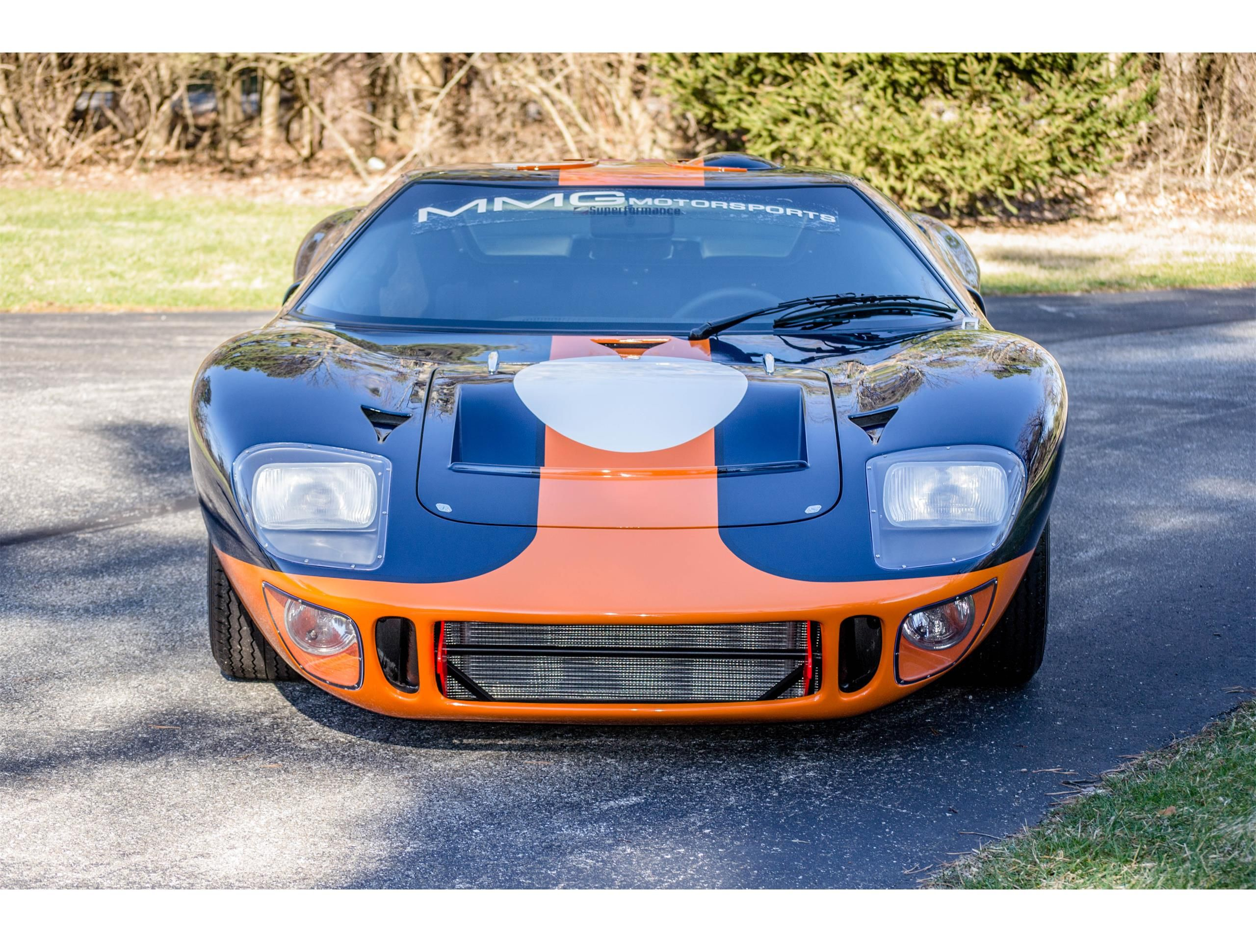 1966 Superformance Gt40 Located In Ohio Offered By Mansfield Motor Group For Sale Listing Id Cc 990577 Classiccars Com Dri Gt40 Ford Gt Gulf Oil Racing