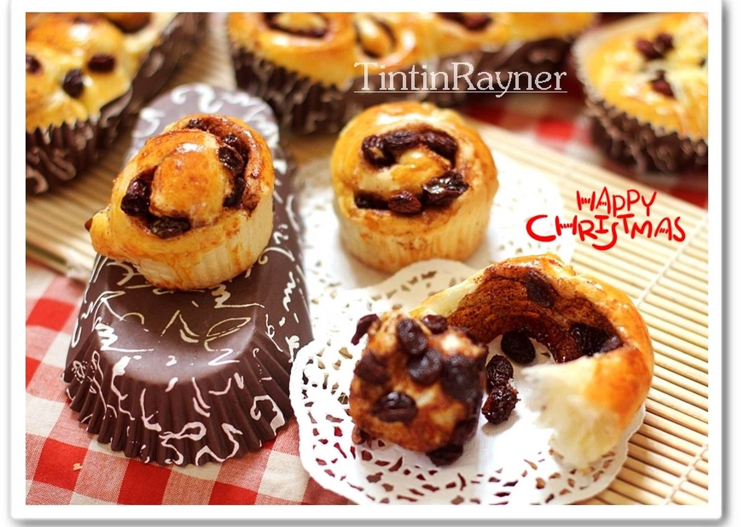 Resep Cara Membentuk Cinnamon Roll Roti Kepang Step By Step Foto Oleh Tintin Rayner Resep Resep Roti Cinnamon Roll Cinnamon Roll