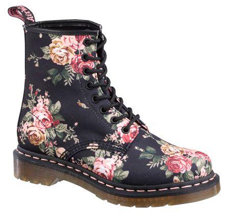 03d998c5de17 Victorian flower Doc Martens.   FashionFrenzy   Schuhe, Schuhe damen ...