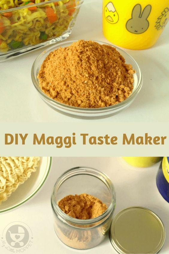 Diy maggi taste maker recipe masala recipe noodle and recipes food forumfinder Gallery
