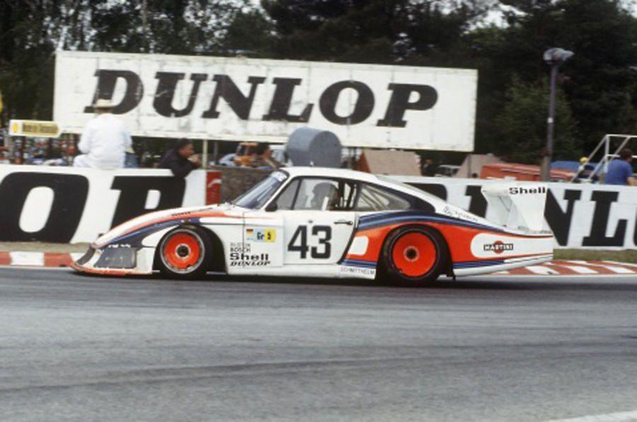 Porsche 935 race car is reborn on Goodwood Hill
