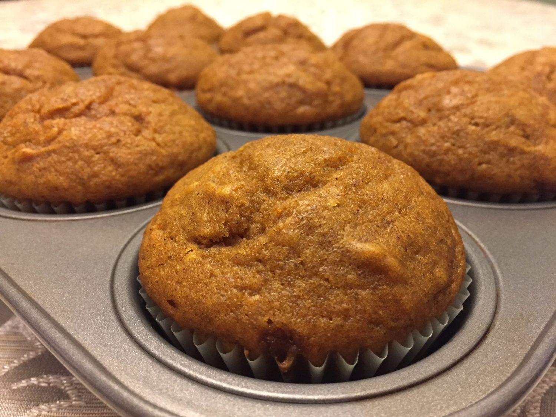 Easy Pumpkin Muffins #pumpkinmuffins