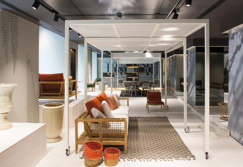 Arredo Giardino Vetrina Unopiu Roma Interni Showroom