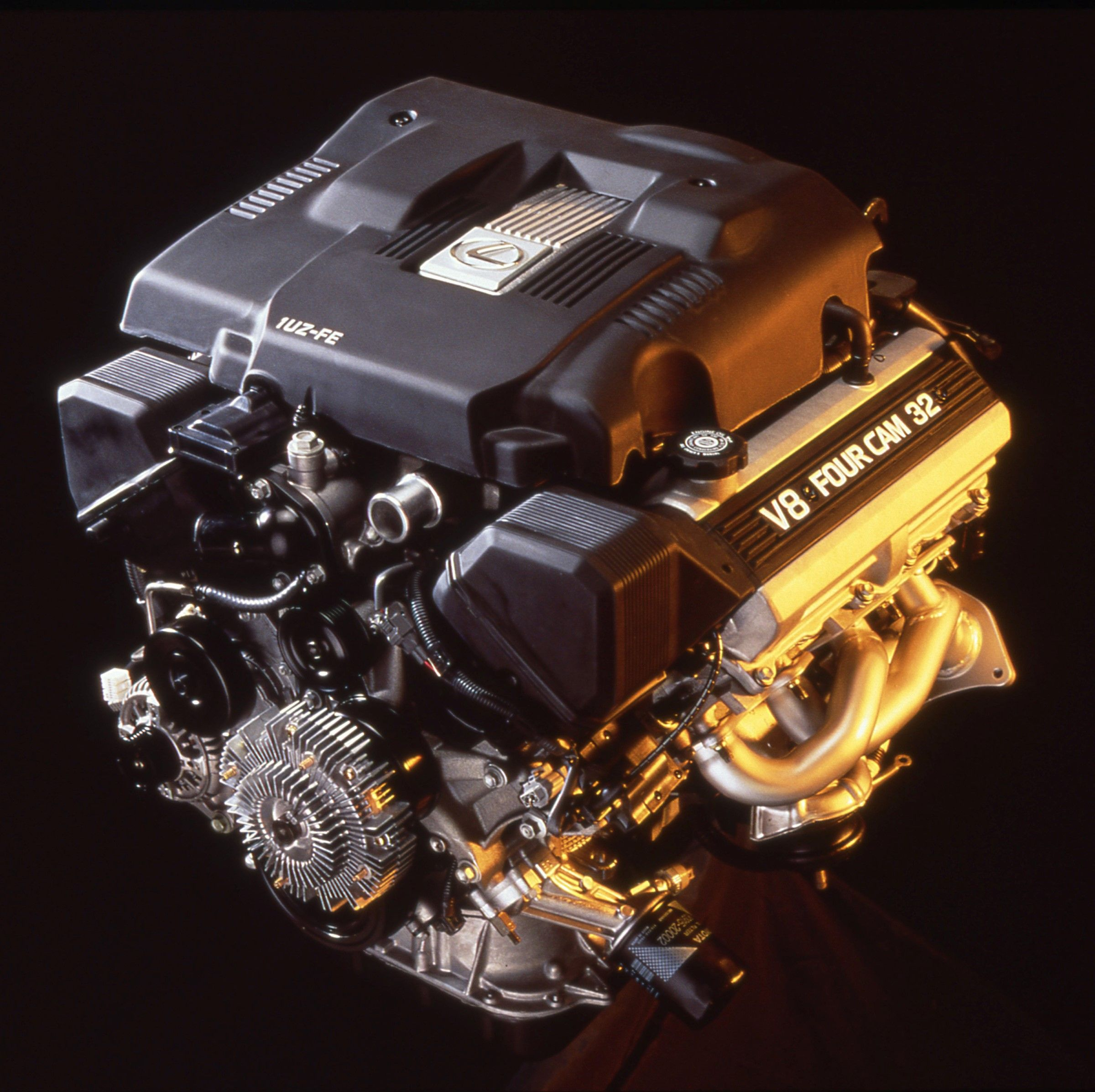 1996 lexus ls 400 engine [ 2400 x 2394 Pixel ]