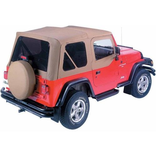 Bestop 51123 37 Replace A Top With Tinted Windows Beige Products Windshield Cover Tops Windows