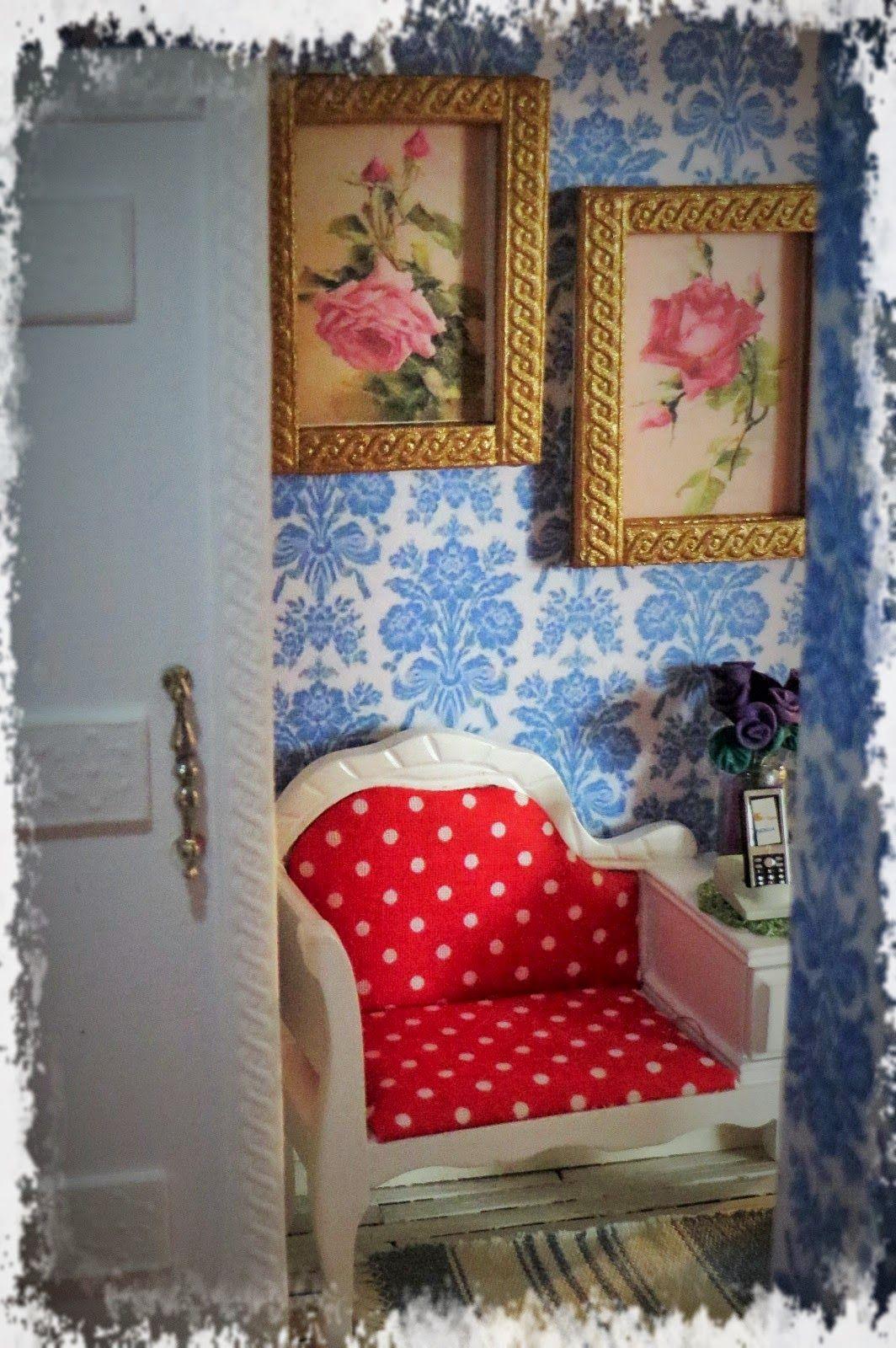 Jaanan nukkekoti - Jaana's dollhouse: Kehykset /Frames 1:12 DIY