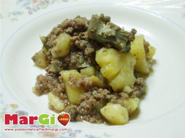 Ricetta carne trita con patate