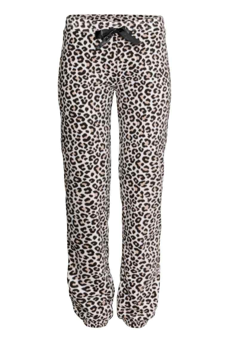 Pantalon Pijama En Forro Polar Pantalones De Pijama Moda Polar Pijamas