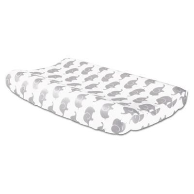 225 & The Peanutshell The Peanutshell Elephant Changing Pad Cover ...