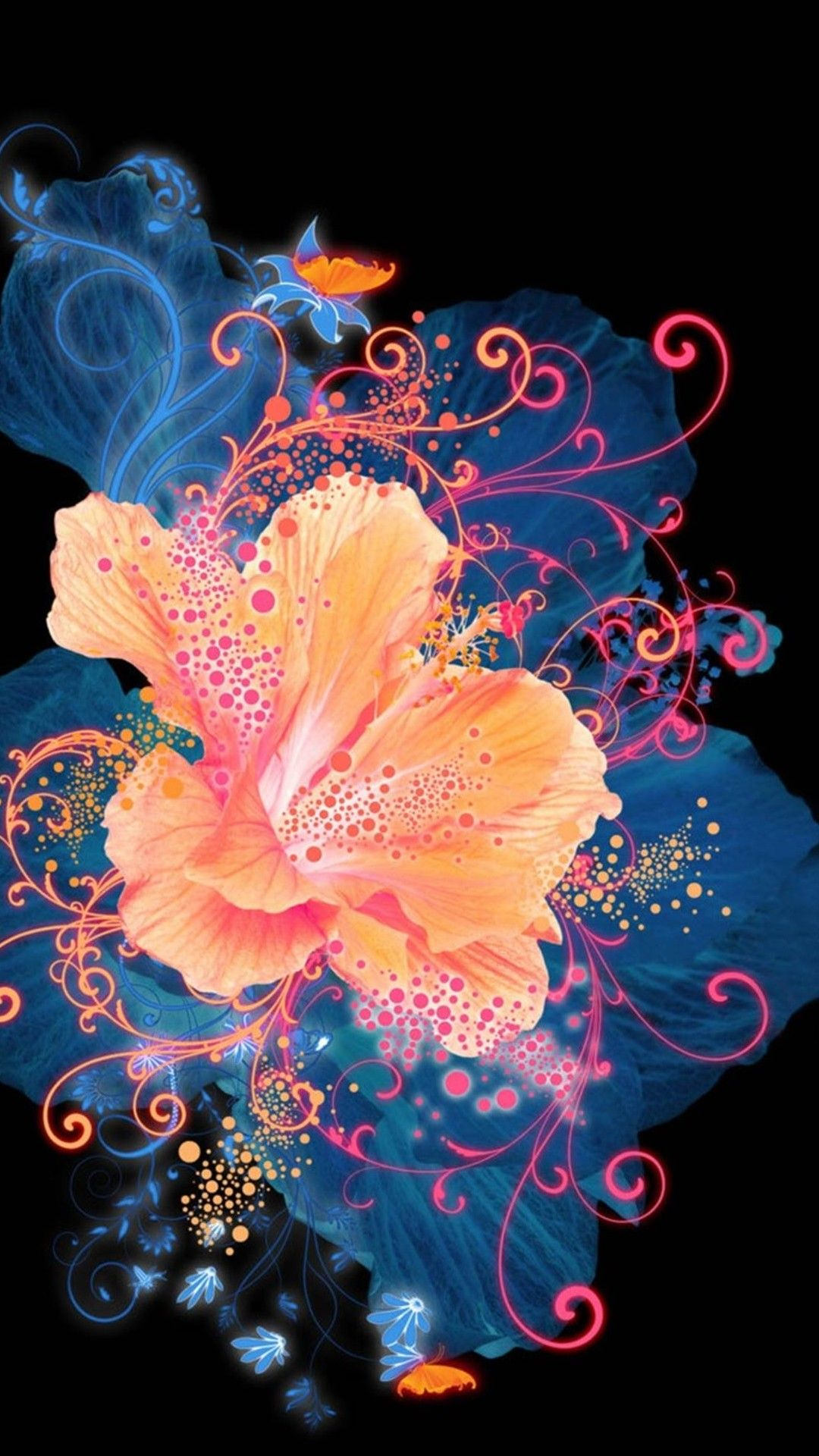 Colorful Samsung Galaxy Note 3 Wallpapers 166 Samsung Galaxy Note 3 Wallpapers Flower Wallpaper Flower Art Abstract Flowers