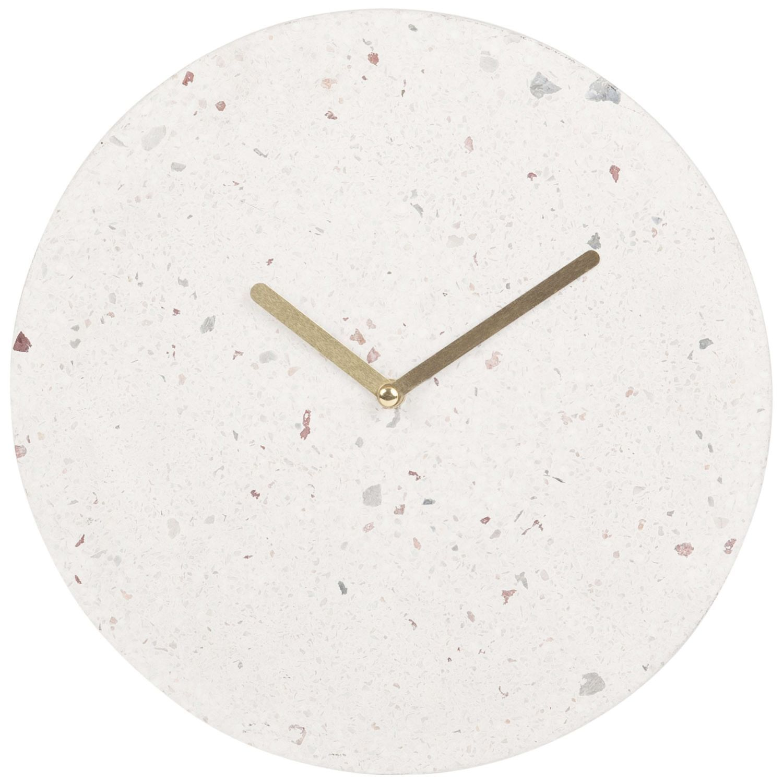 Maison Du Monde Terrazzo white terrazzo print clock | maisons du monde | maison du