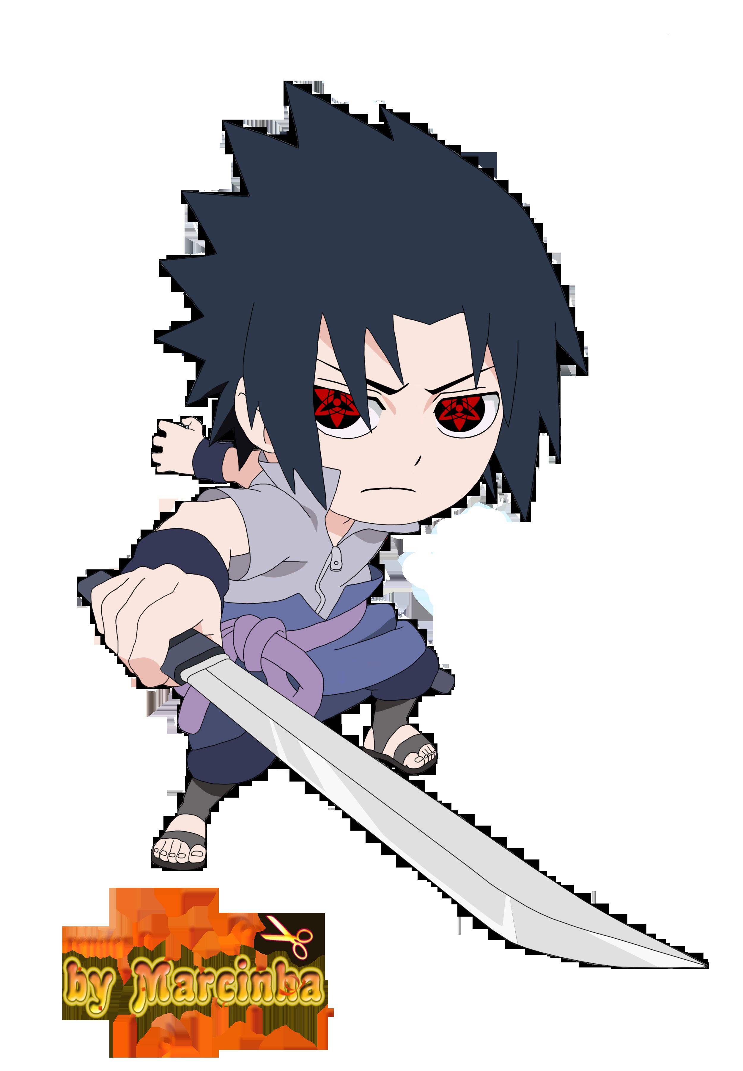 Sasuke Chibi Render Chibi Sasuke Eternal Mangekyou By