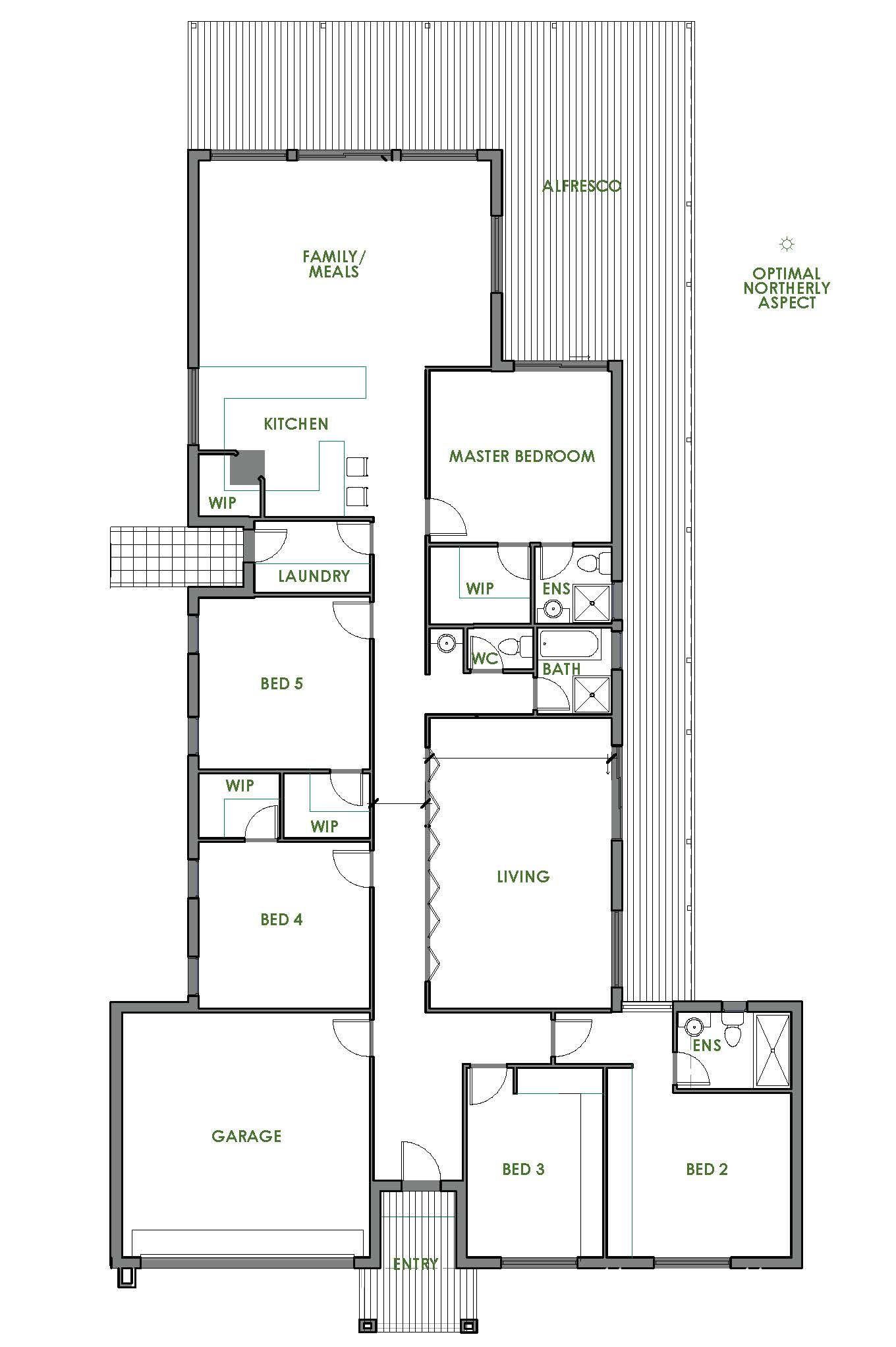 Kimberley New Home Design Green Homes Australia House Plans Energy Efficient Homes Small House Plans