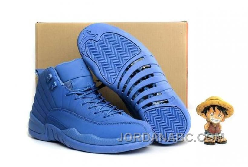 best service b7636 7fea9 ... canada discover the 2017 mens air jordan 12 blue suede for sale super  deals collection at