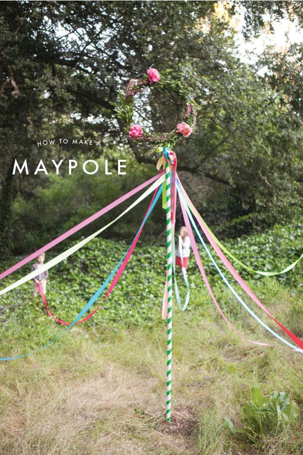 Maypole Diy Oh Happy Day May Day Baskets Beltane May Days