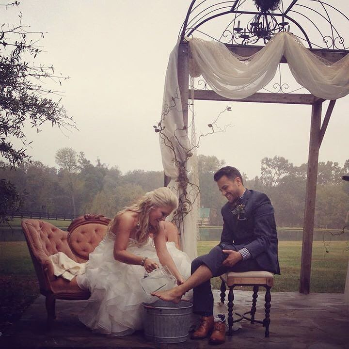 The Bridal Suite Ny On Instagram A Feet Washing Ceremony Is A Beautiful Idea For A Christian Wedd Wedding Vows To Husband Christian Wedding Best Wedding Vows