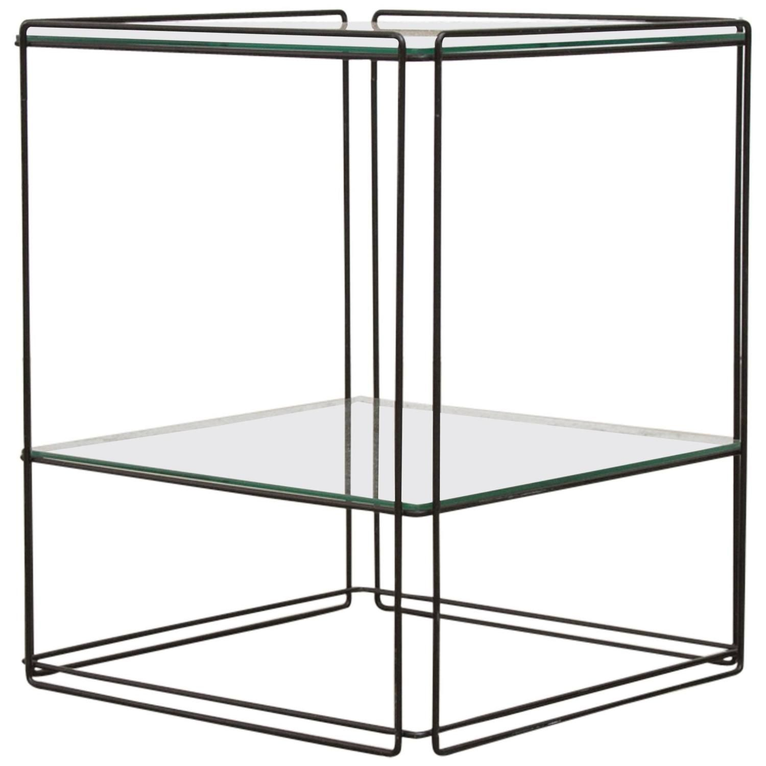 Max Sauze Two Tier Side Table Side Table Table End Tables