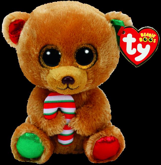 499c62e483d Beanie Boos Australia - Bella the Brown Bear Christmas (regular)