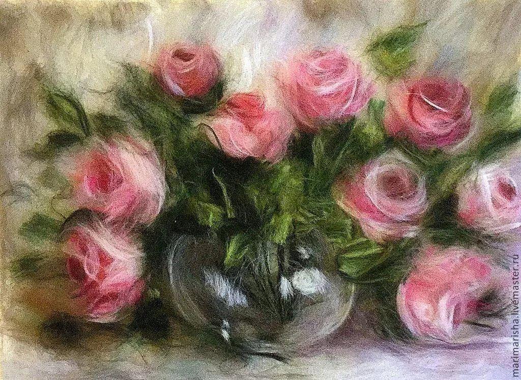 Картинки для живописи шерстью, виде картинок картинка