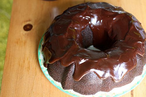 The Making, Baking and Consumption of the Best Chocolate Bundt Cake ever.