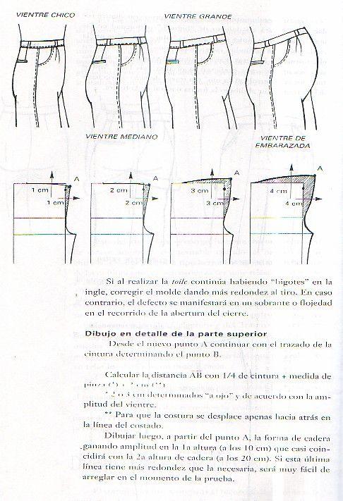 앨범 보관함   pattern   Pinterest   Patrones de costura, Tallas ...