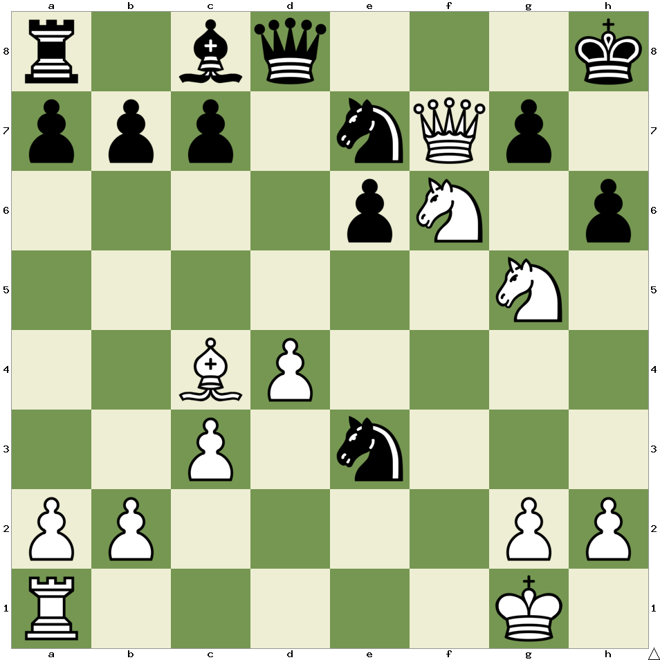 White to move, mate in 3 moves! #chess #chesslover