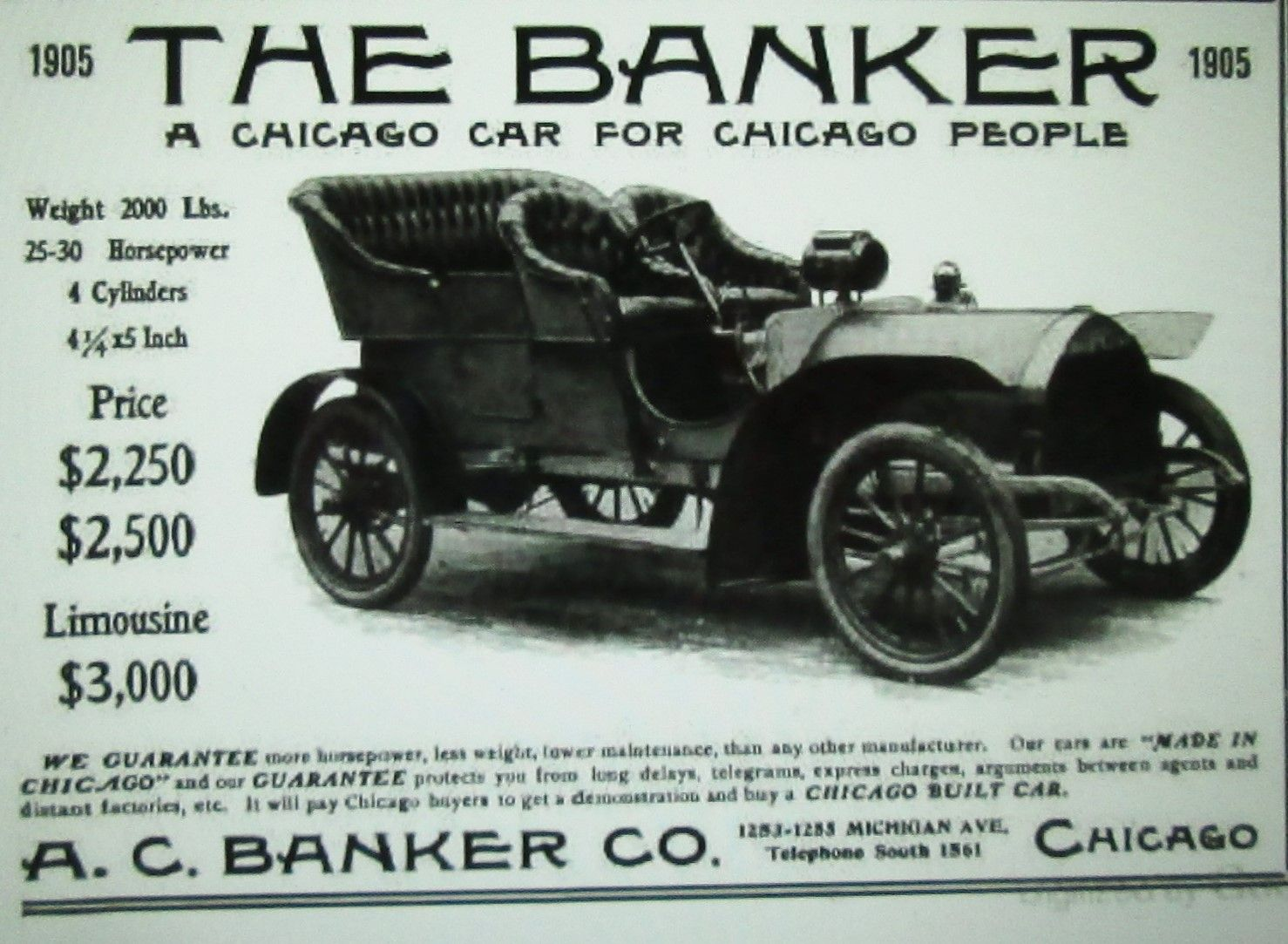 1906 Chicago built Banker | You drive a what? | Pinterest | Cars