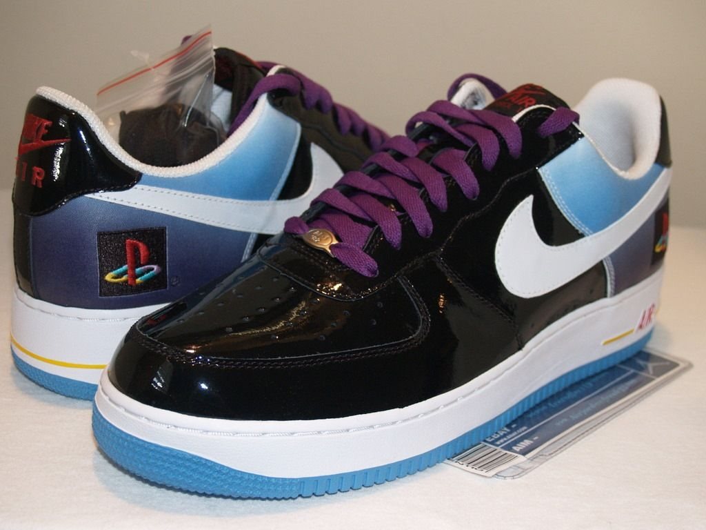 nike air force 1 | Nike Air Force 1 Playstation Edition | Rare Video Games  Auctions