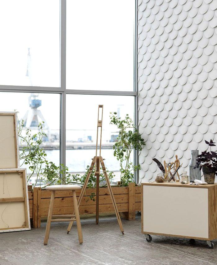 Formidable Papier Peint Contemporain Design #8: Papier Peint Contemporain Avec Des Influences Scandinaves