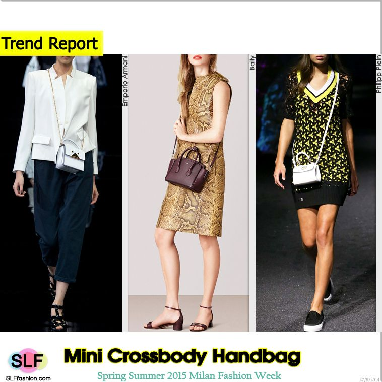 Trendy Bag Style For Spring Summer 2015: Mini Cross-body
