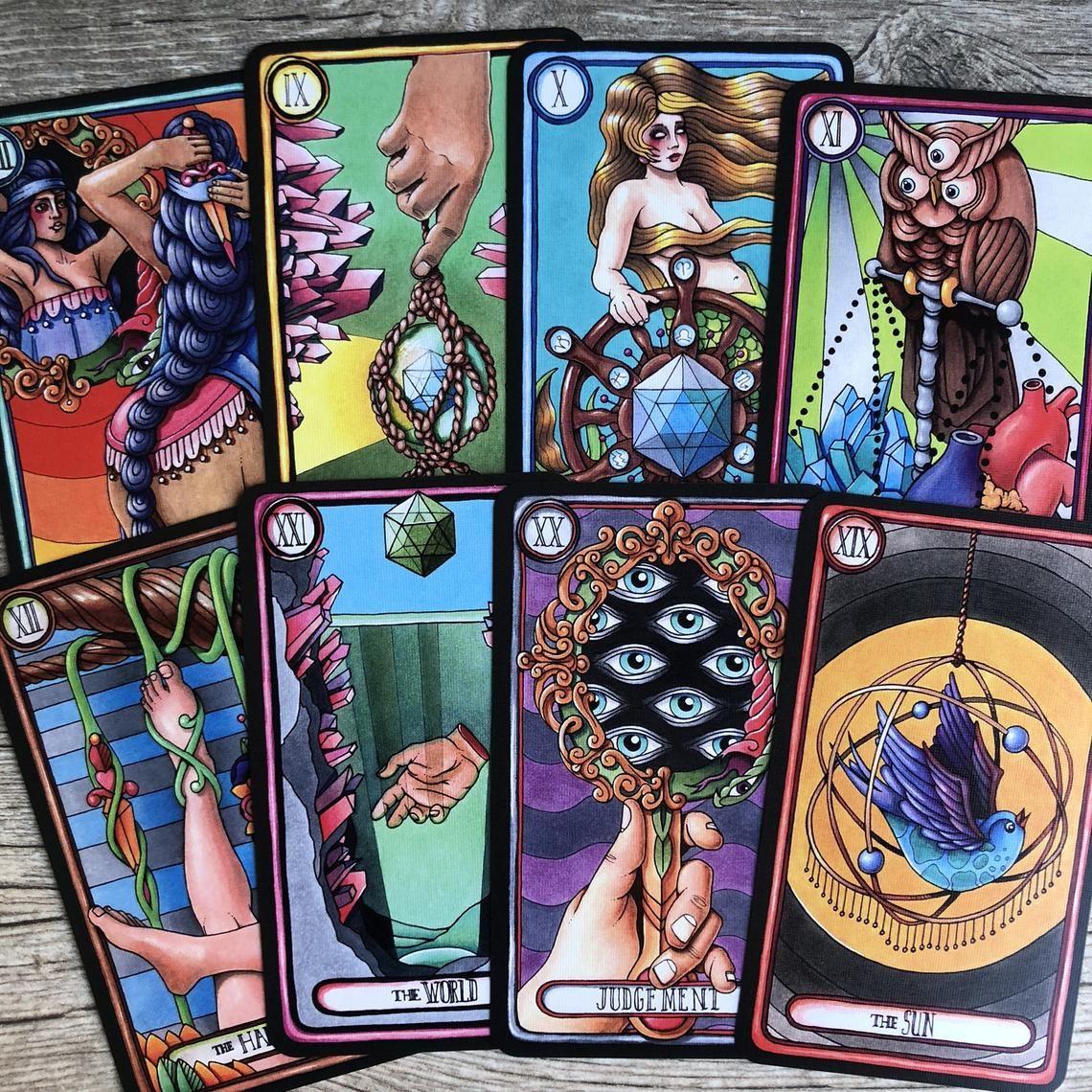Oddity tarot a 24card major arcana deck original hand