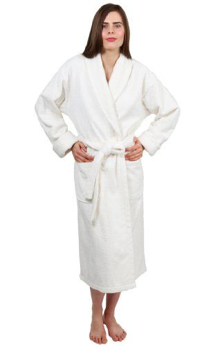 TowelSelections Turkish Terry Bathrobe - Shawl Collar Terry Cloth Robe for  Women and Men 917ad5d00