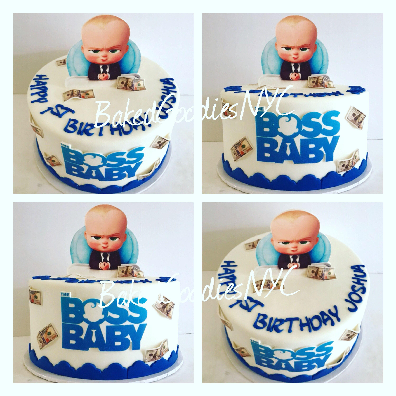 Boss Baby Cake Baby Birthday Cakes Baby 1st Birthday 1st