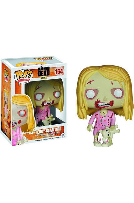 POP TV Walking Dead Teddy Bear Girl Vinyl Figure [Toy] – Dreamlandcomics.com Online Store