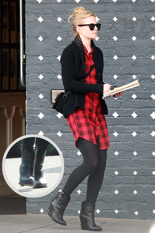 13d64a4150ef Jennifer Morrison Style Giuseppe Zanotti leather  Western wedge  cowboy  boots- REQUESTED BY STANLEY-TUCCIS