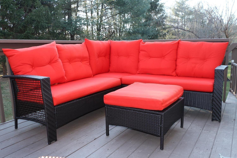 amazon sofa set braxton oliver smith large 4 pc high back rattan